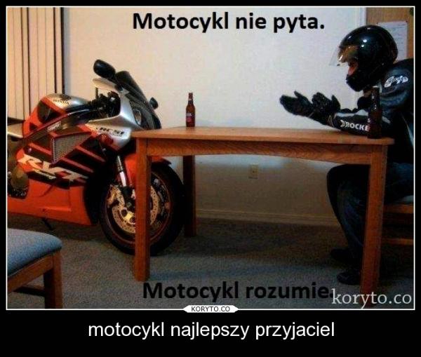 motocykl najlepszy przyjaciel