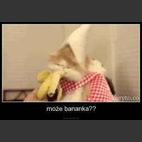 może bananka??