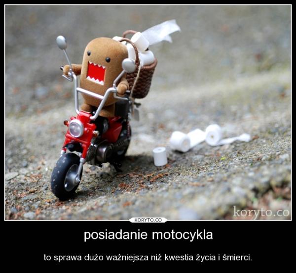 posiadanie motocykla